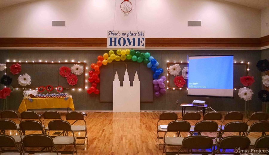 Young Women's New Beginnings program and decoration ideas themed around the Wizard of Oz.
