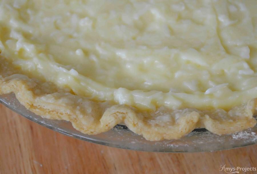 pie crust recipe filled