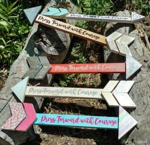 press-forward-with-courage-DIY-wood-arrow-craft-3