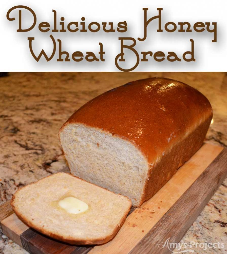 A delicious and easy recipe for honey wheat bread that everyone will love.