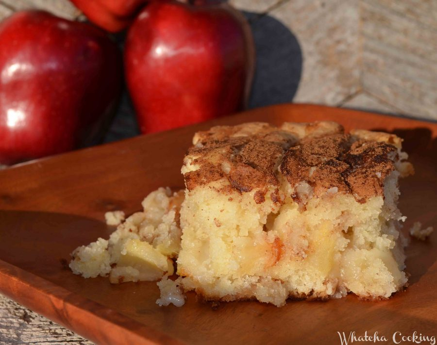 A delicious Norwegian Apply Cake recipe that is filled with apple-y goodness.