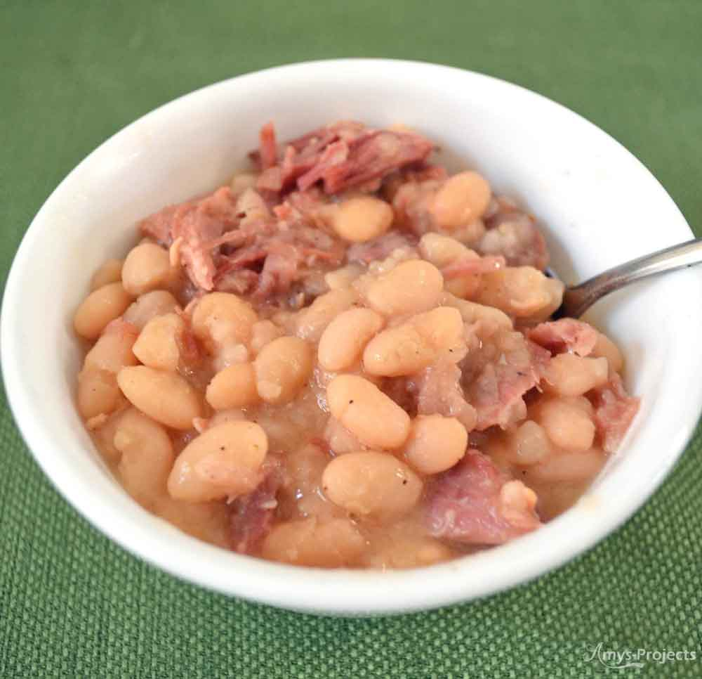 Easy Ham and Beans Recipe